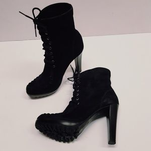 DVF SUEDE ANKLE  BOOTS